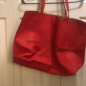 Tatoe bag colour coral